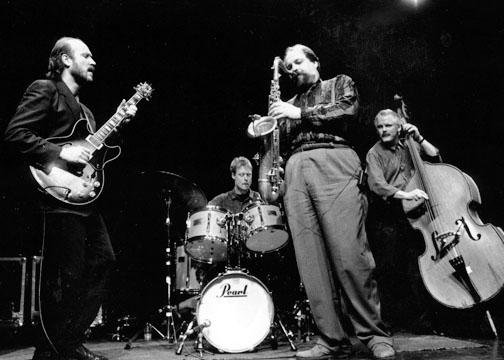 with Joe Lovano, Dennis Irwin, Bill Stewart