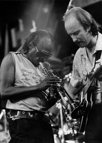 with Miles Davis
