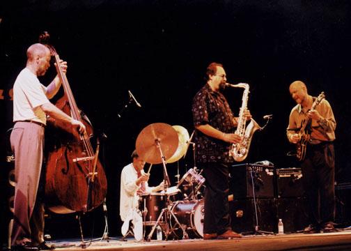 with Dave Holland, Al Foster, Joe Lovano